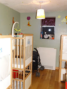 photo showing Longscroft Bumble Bees cts in bedroom